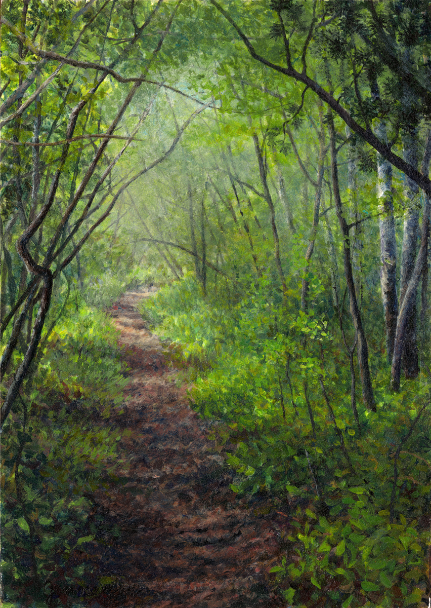 The Woods Wood Be Quiet If No Birds Sang Except The Best: With The Trees, Gallery Of Paintings