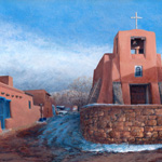 The Chapel of San Miguel, Winter