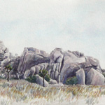 Joshua Tree National Park, Rocks in the Morning